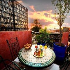 Отель Riad Dar Aby Марокко, Марракеш - отзывы, цены и фото номеров - забронировать отель Riad Dar Aby онлайн балкон