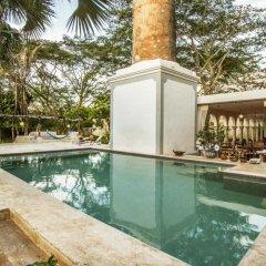 Отель Hacienda Santa Cruz бассейн фото 2