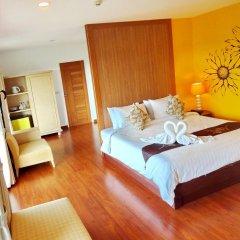 Bussaba Bangkok Suvarnabhumi Airport Hotel комната для гостей
