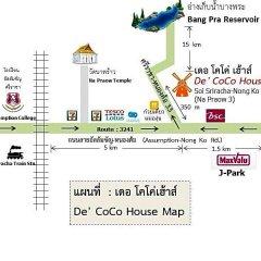 Отель De Coco House Sriracha городской автобус