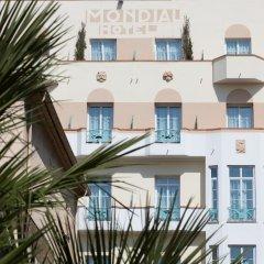 Отель BEST WESTERN Mondial Канны вид на фасад