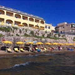 Отель Grand Hotel Dei Cesari Dependance Италия, Анцио - отзывы, цены и фото номеров - забронировать отель Grand Hotel Dei Cesari Dependance онлайн пляж фото 2