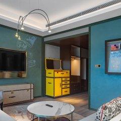 Отель Indigo Shanghai Hongqiao Китай, Шанхай - отзывы, цены и фото номеров - забронировать отель Indigo Shanghai Hongqiao онлайн комната для гостей фото 5