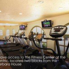 Отель Santa Barbara House фитнесс-зал фото 4