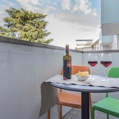Отель Santa Sofia Apartments Италия, Падуя - отзывы, цены и фото номеров - забронировать отель Santa Sofia Apartments онлайн балкон