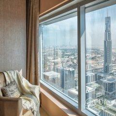 Отель Dream Inn 48 Burj Gate Burj Khalifa View балкон