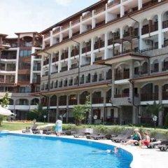 Отель OLYMP Apartcomplex Свети Влас бассейн фото 2