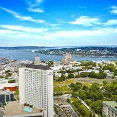 Отель Hilton Québec Канада, Квебек - отзывы, цены и фото номеров - забронировать отель Hilton Québec онлайн пляж фото 2