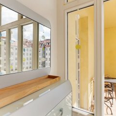 Апартаменты Charming Two-Bedroom Apartment Next To The Emmaus Abbey Прага ванная фото 2