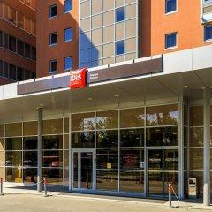 Гостиница IBIS Самара вид на фасад