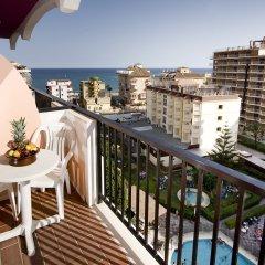Отель Monarque Fuengirola Park Испания, Фуэнхирола - 2 отзыва об отеле, цены и фото номеров - забронировать отель Monarque Fuengirola Park онлайн балкон