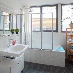 Отель Lodge-Leipzig Германия, Лейпциг - отзывы, цены и фото номеров - забронировать отель Lodge-Leipzig онлайн ванная фото 2