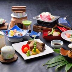 Отель Kokonoe Yuyutei Япония, Минамиогуни - отзывы, цены и фото номеров - забронировать отель Kokonoe Yuyutei онлайн питание фото 2
