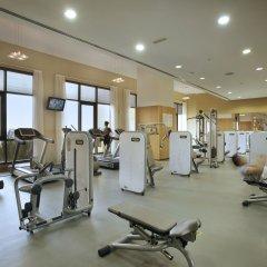 Отель Amwaj Rotana, Jumeirah Beach - Dubai фитнесс-зал