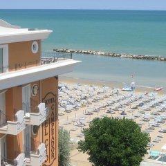 Отель El Cid Campeador Италия, Римини - отзывы, цены и фото номеров - забронировать отель El Cid Campeador онлайн пляж фото 2