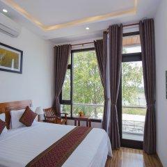 Отель Hoi An Sun Lake Homestay Хойан комната для гостей