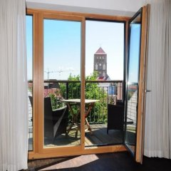 rostock apartment LIVING HOTEL балкон