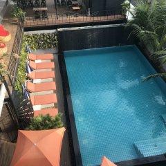 Отель V20 boutique hotel Таиланд, Бангкок - отзывы, цены и фото номеров - забронировать отель V20 boutique hotel онлайн бассейн фото 2