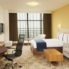 Отель Holiday Inn Express Beijing Minzuyuan Китай, Пекин - отзывы, цены и фото номеров - забронировать отель Holiday Inn Express Beijing Minzuyuan онлайн комната для гостей фото 2