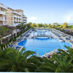 Отель Trendy Aspendos Beach - All Inclusive Сиде балкон