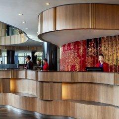 Отель Crowne Plaza Changi Airport интерьер отеля