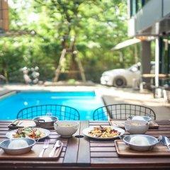 Отель Nest By Sa-ngob Бангкок питание