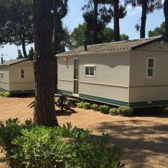 Отель Camping Victoria Испания, Канет-де-Мар - отзывы, цены и фото номеров - забронировать отель Camping Victoria онлайн парковка
