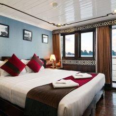 Отель Halong Carina Cruise Вьетнам, Халонг - отзывы, цены и фото номеров - забронировать отель Halong Carina Cruise онлайн комната для гостей фото 4