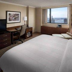 Отель New York Marriott Downtown США, Нью-Йорк - отзывы, цены и фото номеров - забронировать отель New York Marriott Downtown онлайн удобства в номере
