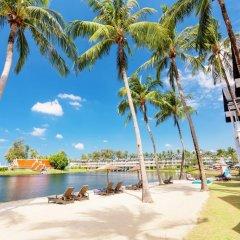Отель Angsana Laguna Phuket Таиланд, Пхукет - 7 отзывов об отеле, цены и фото номеров - забронировать отель Angsana Laguna Phuket онлайн пляж