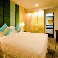 Отель Urbana Langsuan Bangkok, Thailand Таиланд, Бангкок - 1 отзыв об отеле, цены и фото номеров - забронировать отель Urbana Langsuan Bangkok, Thailand онлайн комната для гостей фото 3