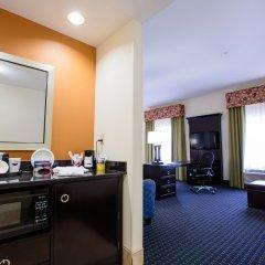 Отель Hampton Inn & Suites Effingham США, Эффингем - отзывы, цены и фото номеров - забронировать отель Hampton Inn & Suites Effingham онлайн удобства в номере фото 2