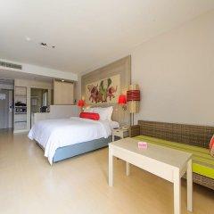 Отель Ramada by Wyndham Phuket Deevana Patong Улучшенный номер с различными типами кроватей