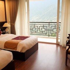 Sapa Diamond Hotel балкон