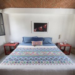 Отель Casa Ayvar Мексика, Мехико - отзывы, цены и фото номеров - забронировать отель Casa Ayvar онлайн комната для гостей фото 4