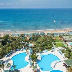 İz Flower Side Beach Hotel пляж