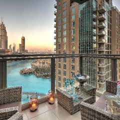 Апартаменты Dream Inn Dubai Apartments-burj Residences Дубай балкон