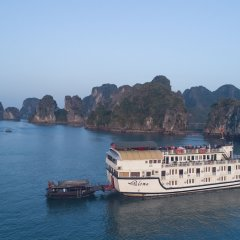 Отель Paloma Cruise Вьетнам, Халонг - отзывы, цены и фото номеров - забронировать отель Paloma Cruise онлайн приотельная территория фото 2