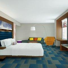 Отель Aloft Al Ain ОАЭ, Эль-Айн - отзывы, цены и фото номеров - забронировать отель Aloft Al Ain онлайн комната для гостей фото 4