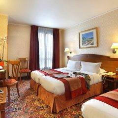 Отель The Originals Hotels Paris Paix République Париж комната для гостей фото 4