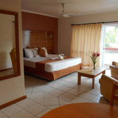Отель Bedarra Beach Inn Фиджи, Вити-Леву - отзывы, цены и фото номеров - забронировать отель Bedarra Beach Inn онлайн комната для гостей фото 5