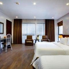 Отель My Linh Hotel Вьетнам, Ханой - отзывы, цены и фото номеров - забронировать отель My Linh Hotel онлайн комната для гостей фото 2