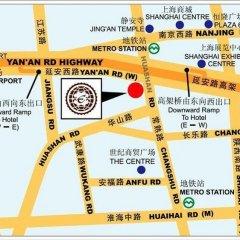 Hotel Equatorial Shanghai городской автобус