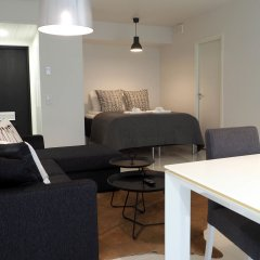 Апартаменты Helsinki Homes Apartments Хельсинки комната для гостей