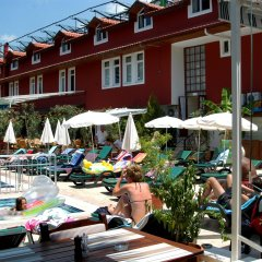 Tonoz Beach Турция, Олудениз - 2 отзыва об отеле, цены и фото номеров - забронировать отель Tonoz Beach онлайн бассейн фото 3