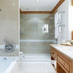 Отель Crystal Hotel superior Швейцария, Санкт-Мориц - отзывы, цены и фото номеров - забронировать отель Crystal Hotel superior онлайн ванная фото 2