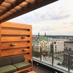 Отель Eden Garden Suites Белград балкон
