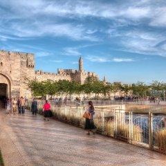 New Imperial Hotel Израиль, Иерусалим - 1 отзыв об отеле, цены и фото номеров - забронировать отель New Imperial Hotel онлайн приотельная территория фото 2