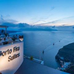 Отель Porto Fira Suites Греция, Остров Санторини - отзывы, цены и фото номеров - забронировать отель Porto Fira Suites онлайн приотельная территория фото 2
