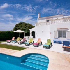 Отель Villa Savanna Кала-эн-Бланес бассейн фото 2
